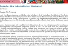 Interview in der ADZ. (Quelle: http://www.adz.ro)