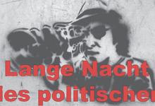 Logo der langen Nacht des politischen Kurzfilms