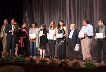 Award ceremony at the Festival Mundial de Cine Extremo San Sebastián de Veracruz