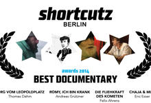 Einladung zur Dokumentarfilmsektion der ShortCutz Awards 2014